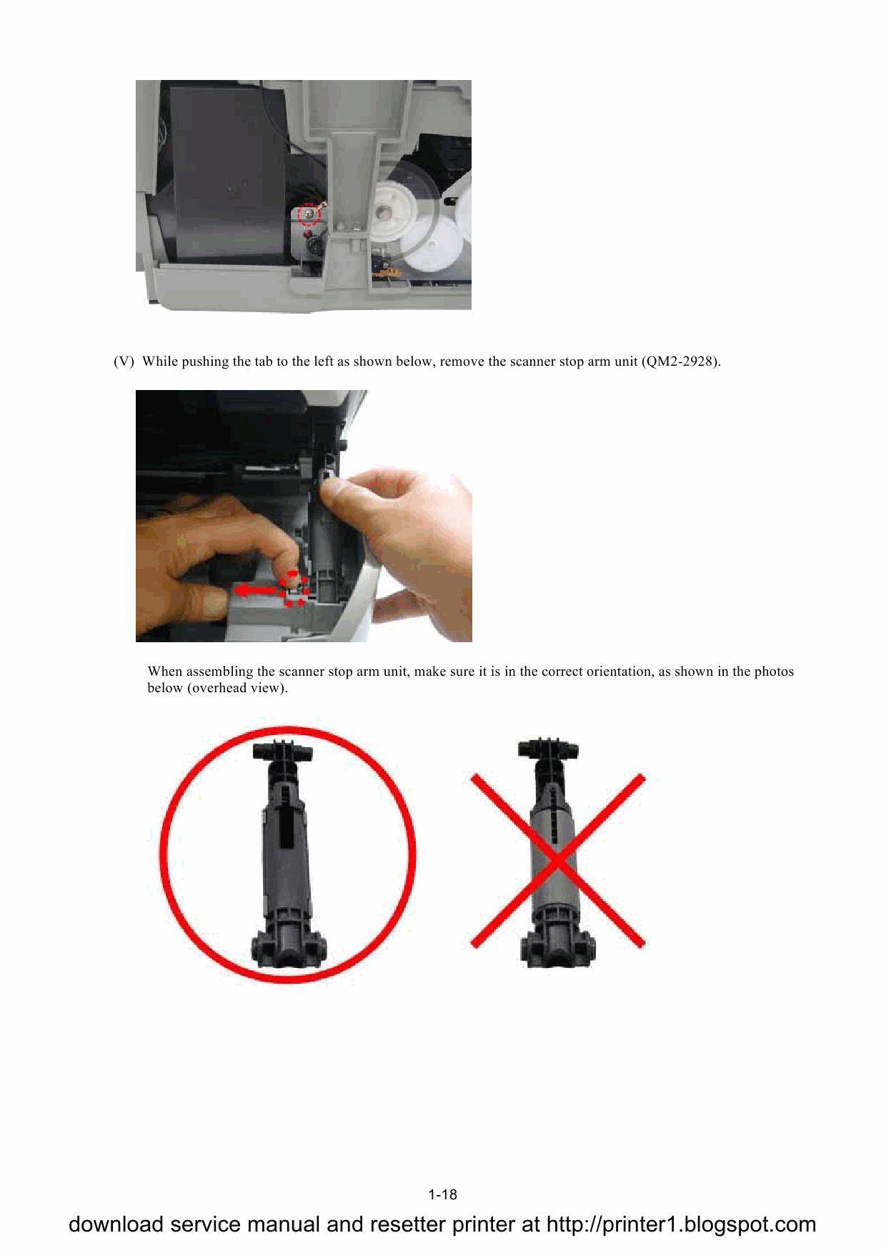 CANON PIXMA MP500 MP 500 SERVICE & REPAIR MANUAL